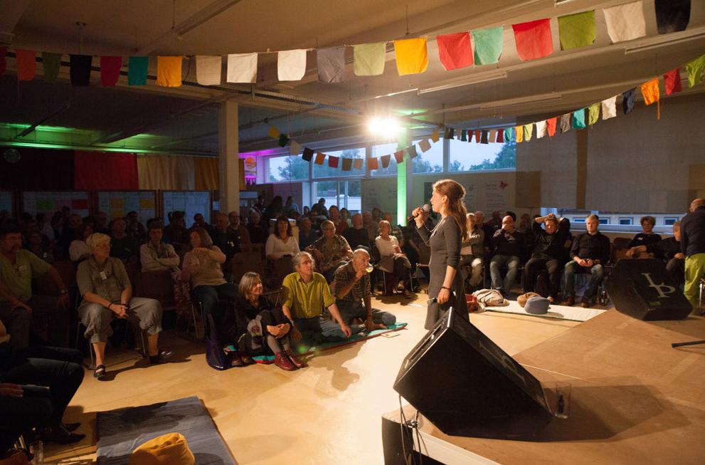 Open Space in Schrems 2015 -  und wieder zu Pfingsten 2017!