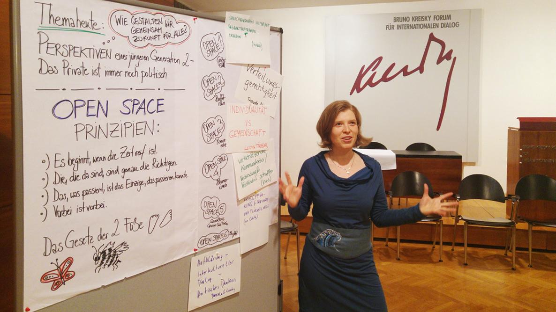 """""""Das Private ist immer noch politisch"""" - Open Space für den Österreichischen Frauenrat 2017"""